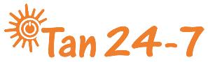 Tan 24-7 Logo